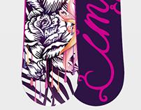 Imperium snowboard design