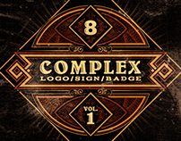 Complex Logos/Signs/Badges v.1