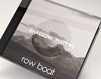 """Cover Art for Row Boat's """"Shallow Waters"""""""