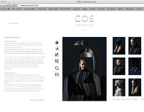 COS Interactive website concept
