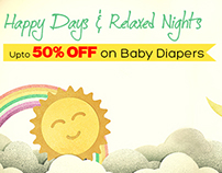 Baby Diaper Promotional emailer