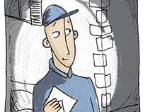 Comic strip: Pursuit