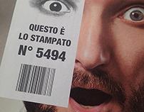 Roto-offset variable data printing brochure