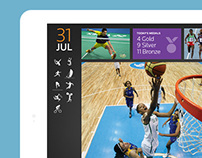 Thomson Reuters – Olympics app for iOS