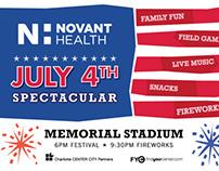 Novant Health July 4th Spectacular