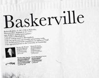 Baskerville Poster