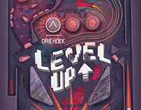 LEVEL UP exhibition poster