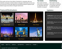 Sydney Travel and Tours Interface
