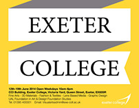 Exeter College Summer Show Poster