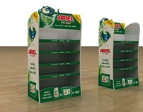 P&G Ariel Gondol , Stand , Floor,Mega Display