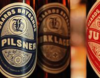 Beer label Lade Gaards Brygghus – Concept/packaging