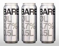 Beer label Bare øl (Just beer) - packaging