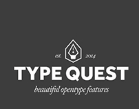 OpenType on the Web (TypeQuest.org)