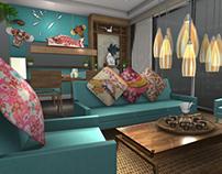 Modern ZEN Style - Interior Design Project