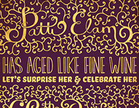 Patti Elam 60th Birthday Invite