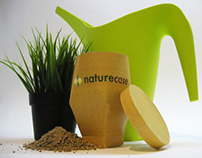 "Packaging for plants ""naturecase"""