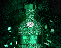 Vodka Absolut