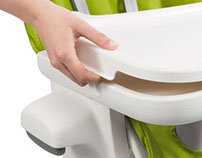 Seedling High Chair Tray POP