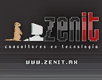 Zenit Logo Animation
