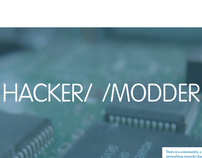 Hacker//Modder Magazine: Analog & iPad