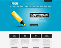 Internet Marketing Ninjas Web Design