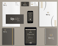 UPSIDE – Rebranding and web design concept