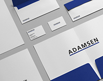 Adamsen - Branding / Stationery Mock-Up