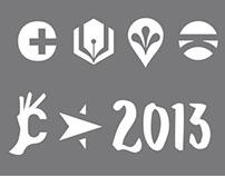 Logos in Black