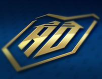 Anthony Davis - NBA Player logo concept