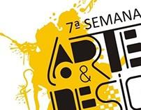 Cartaz da 7ª SEMAD - IAD/UFJF