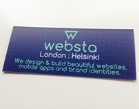 Websta business card