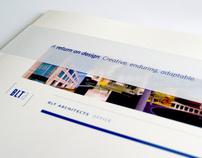 BLT Architects Portfolio Book