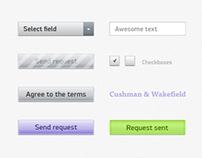 Cushman & Wakefield UI Elements