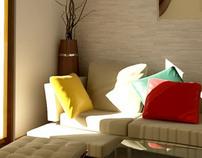 Smouha Apartment (Interior Design)