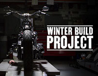 Harley-Davidson 2014 Winter Bike Build