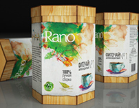 "Fitotea ""Rano"" package design"