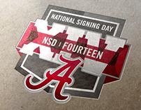 Alabama Signing Day Logo