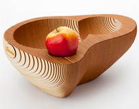 Fruit bowl '128' | wood