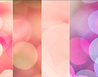 Hi-res bokeh backgrounds - soft, romantic, female color