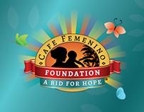 Trade show print materials for Cafe Femenino Foundation