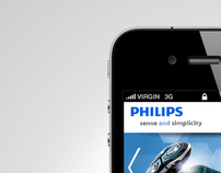 Philips Mobile Site