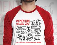 Momentum Softball Shirt 2012