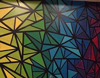 My Quilt Studio Mural