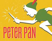 Peter Pan Poster Concept - Variety Children's Theatre