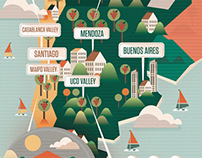 Majestic Wines Map and Icons