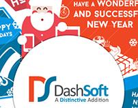 DashSoft Greeting Card