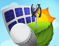 DRES Green Energy Illustration