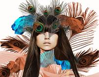 Dream Girl- Fashion Illustration Art Print