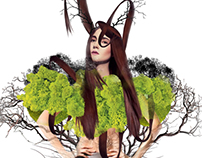 Nature dream-Illustration Art Print