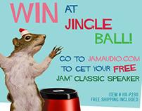 Jingle Ball Prize Winner Email Blast